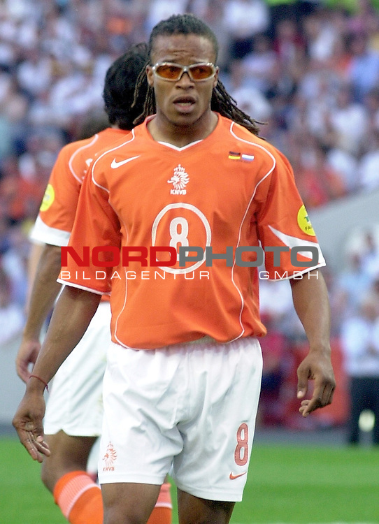 Europameisterschaft 2004 Portugal<br /> <br /> <br /> <br /> Deutschland - Niederlande<br /> <br /> <br /> <br /> Edgar Davids (Niederlande)<br /> <br /> <br /> <br /> Foto &copy; nordphoto