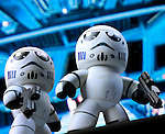 Stormtroopers on Deathstar bridge