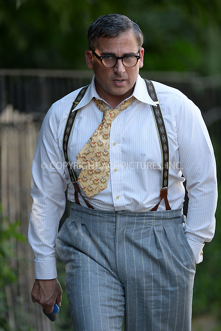 WWW.ACEPIXS.COM<br /> September 9, 2015 New York City<br /> <br /> Steve Carell was seen on the film set of the Woody Allen Summer Project on September 9, 2015 in New York City.<br /> <br /> Credit: Kristin Callahan/AcePictures<br /> <br /> <br /> Tel: (646) 769 0430<br /> e-mail: info@acepixs.com<br /> web: http://www.acepixs.com