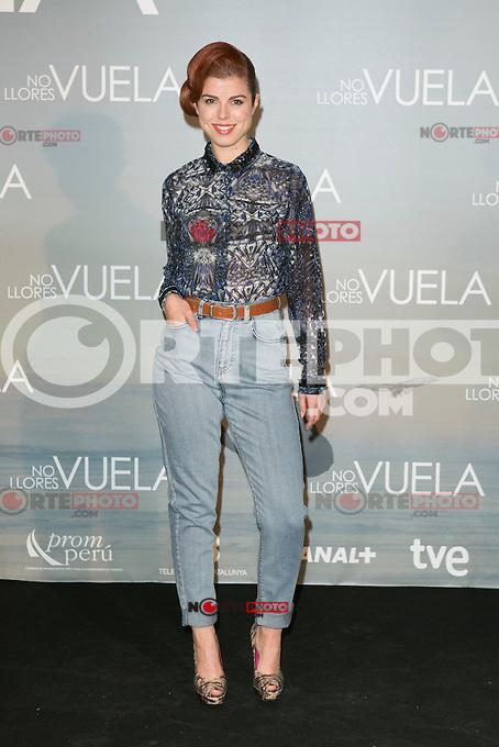 Alba Messa attends Claudia&acute;s Llosa &quot;No Llores Vuela&quot; movie premiere at Callao Cinema, Madrid,  Spain. January 21, 2015.(ALTERPHOTOS/)Carlos Dafonte) /NortePhoto<br /> NortePhoto.com