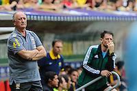 Luiz Felipe Scolari do Brasil durante o amistoso contra a Austrália, realizado neste sábado no Estádio Mané Garrincha, em Brasília (DF). (Foto: Thiago Ferreira / Brazil Photo Press).