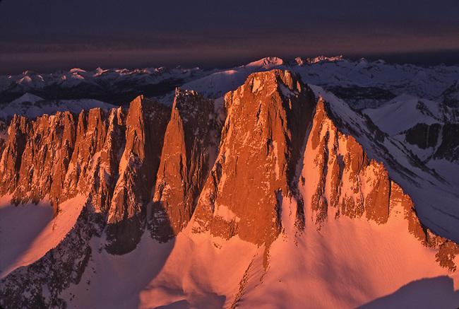 Mt. Whitney at sunrise