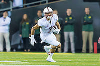 EUGENE, OR - NOVEMBER 1, 2014:  Michael Rector during Stanford's game against Oregon. The Ducks defeated the Cardinal 45-16.