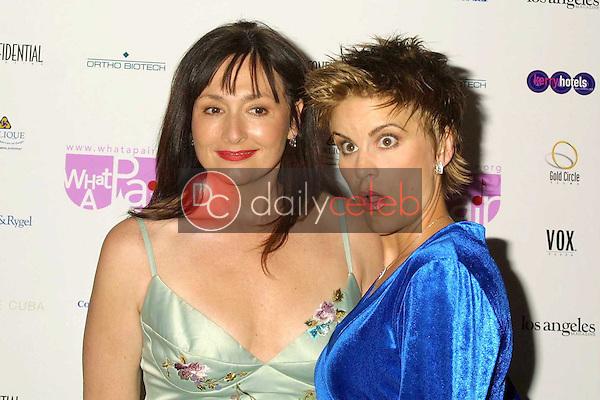 Nora Dunn and Jenn Colella