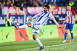 Carlos Alberto Vela Garrido of Real Sociedad in action during their La Liga match between Atletico de Madrid vs Real Sociedad at the Vicente Calderon Stadium on 04 April 2017 in Madrid, Spain. Photo by Diego Gonzalez Souto / Power Sport Images