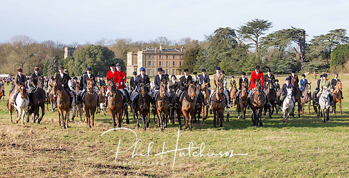 26.12.2012, Prestwold, Leicestershire, England...The Quorn Hunt at their traditional Boxing Day meeting at Prestwold Hall, Leicestershire, UK.
