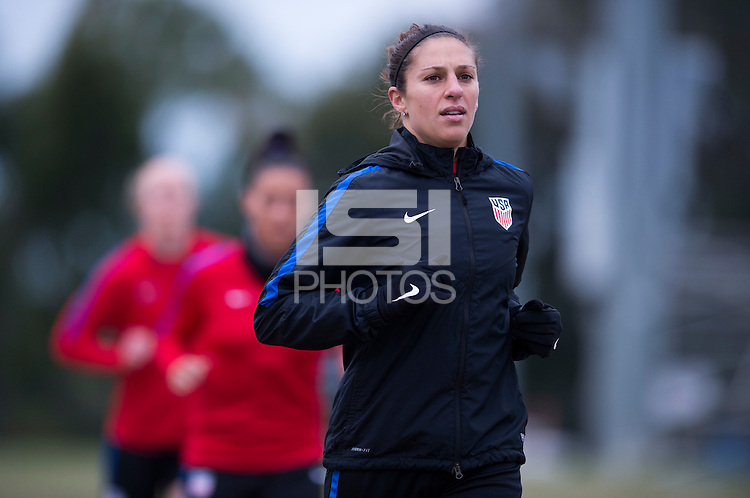 Carson, CA - January 18, 2017: The USWNT held training at StubHub Center during January Camp.