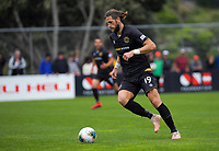 Team Wellington's Stevan Markovic in action during the ISPS Handa Premiership football match between Team Wellington and Wellington Phoenix Reserves at David Farrington Park in Wellington, New Zealand on Sunday, 17 November 2019. Photo: Dave Lintott / lintottphoto.co.nz