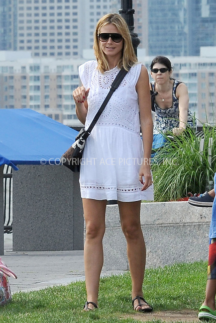 WWW.ACEPIXS.COM . . . . . .June 26, 2011...New York City...Heidi Klum and Family  on June 26, 2011 in New York City....Please byline: KRISTIN CALLAHAN - ACEPIXS.COM.. . . . . . ..Ace Pictures, Inc: ..tel: (212) 243 8787 or (646) 769 0430..e-mail: info@acepixs.com..web: http://www.acepixs.com .