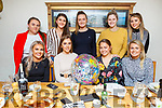 Aisling Thornton from Ballyheigue celebrating her 20th birthday in Bella Bia on Friday night.Seated l to r: Amy O&rsquo;Mahoney, Aisling Thornton, Cara Quinlan and Laura Courtney.<br /> Back l to r: Juilette Clifford, Miriam Dowling, Maire Daly, Niamh Walsh and Chloe Davis.