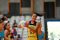 Pulse' Aliyah Dunn in action during the  Preseason Tournament - Pulse v Steel at Ngā Purapura, Otaki, New Zealand on Sunday 10 February  2019. <br /> Photo by Masanori Udagawa. <br /> www.photowellington.photoshelter.com