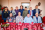 Kerry County Cricket awards night held in Castle Street, Tralee on Saturday night last were front l-r: Craig Bainbridge, Ian Brick, Sean Mullins and Dave Ramsey. Back l-r: Muhammad Kamaran, Shahzaib Saghir, Brian Hehir, Kurt Paget, Omid Wzari, Richard Rutland and Jaen Roux.