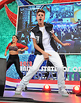 Justin Bieber, Jul 11, 2012 : Singer Justin Bieber performs during Japanese TV event in Tokyo, Japan, on July 11, 2012. (Photo by AFLO)