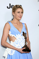 LOS ANGELES - MAR 3:  Greta Gerwig_ at the 2018 Film Independent Spirit Awards at the Beach on March 3, 2018 in Santa Monica, CA