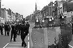Anti Nazi League demonstration against a march by the National Front through the centre of Leicester 1978.
