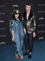 LOS ANGELES, USA. November 03, 2019: Billie Eilish & Finneas O'Connell at the LACMA 2019 Art+Film Gala at the LA County Museum of Art.<br /> Picture: Paul Smith/Featureflash