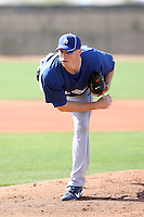 Josh Walter, Los Angeles Dodgers 2010 minor league spring training..Photo by:  Bill Mitchell/Four Seam Images.