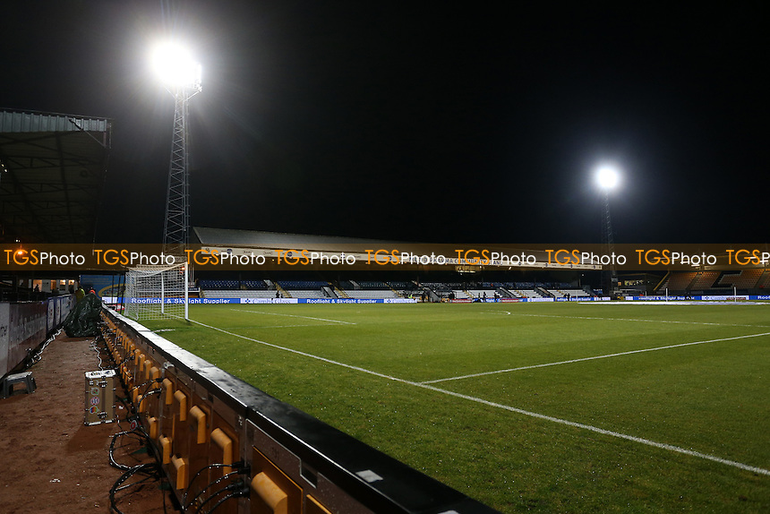 General view of the ground ahead of Cambridge United vs Leeds United, Emirates FA Cup Football at the Cambs Glass Stadium on 9th January 2017
