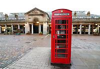 MAR 20 London looks deserted as Lockdown Fears increase