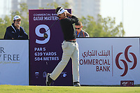 Pedro Figueiredo (POR) in action during the second round of the Commercial Bank Qatar Masters, Doha Golf Club, Doha, Qatar. 08/03/2019<br /> Picture: Golffile | Phil Inglis<br /> <br /> <br /> All photo usage must carry mandatory copyright credit (&copy; Golffile | Phil Inglis)