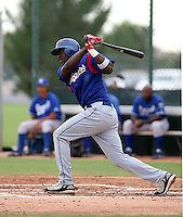 Guillermo Pimentel / Texas Rangers 2008 Instructional League..Photo by:  Bill Mitchell/Four Seam Images