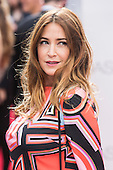 London, UK. 11 July 2016. Presenter Lisa Snowdon. Red carpet arrivals for the European Premiere of the Universal movie Jason Bourne (2016) in London's Leicester Square.