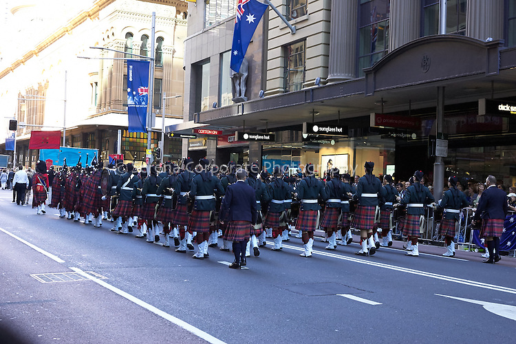 Anzac Day March Sydney 2015