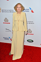 BEVERLY HILLS, CA. October 26, 2018: Sarah Miles at the 2018 British Academy Britannia Awards at the Beverly Hilton Hotel.<br /> Picture: Paul Smith/Featureflash