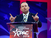 United States Senator Mike Lee (Republican of Utah) speaks at the Conservative Political Action Conference (CPAC) at the Gaylord National Resort and Convention Center in National Harbor, Maryland on Thursday, February 28, 2019.<br /> Credit: Ron Sachs / CNP