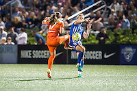 Allston, MA - Wednesday Aug. 31, 2016: Andressa Machry, Natasha Dowie during a regular season National Women's Soccer League (NWSL) match between the Boston Breakers and the Houston Dash at Jordan Field.