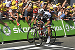 Michael Matthews (AUS) Team Sunweb outsprints John Degenkolb (GER) Trek-Segafredo to win Stage 16 of the 104th edition of the Tour de France 2017, running 165km from Le Puy-en-Velay to Romans-sur-Isere, France. 18th July 2017.<br /> Picture: ASO/Bruno Bade | Cyclefile<br /> <br /> <br /> All photos usage must carry mandatory copyright credit (&copy; Cyclefile | ASO/Bruno Bade)