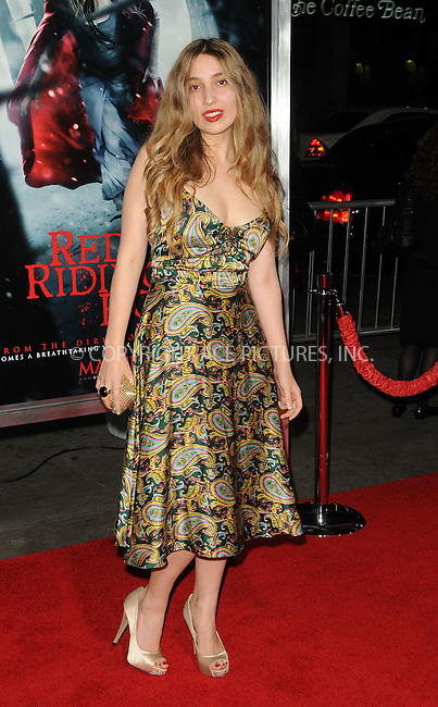 WWW.ACEPIXS.COM . . . . . ......March 7 2011, Los Angeles....Writer Sarah Blakley-Cartwright arriving at the premiere of Warner Bros. Pictures' 'Red Riding Hood' at Grauman's Chinese Theatre on March 7, 2011 in Hollywood, California.....Please byline: PETER WEST - ACEPIXS.COM....Ace Pictures, Inc:  ..(212) 243-8787 or (646) 679 0430..e-mail: picturedesk@acepixs.com..web: http://www.acepixs.com
