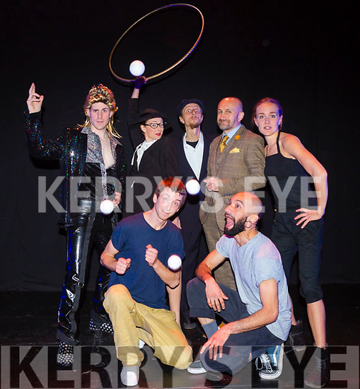 Performers at  Circus Siamsa on Saturday were Roxana Küwen, Mat Ricardo, Alex Allison (Ireland) and Davi Hora (Brazil), Madame Jocelyne, Philip Sutil and Brian Daly