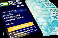 SÃO PAULO, SP, 06.05.2020: Auxílio Emergencial - Governo Federal lança ferramenta de consulta sobre o auxílio emergencial , que pode ser consultado pelo aplicativo da Caixa e por meio dos sites do Ministério da Cidadania e da Dataprev.