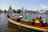 Boten op de Zaan in Zaandam