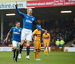 Kenny Miller celebrates his goal for Rangers