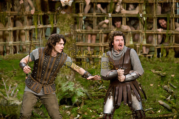 James Franco & Danny McBride.in Your Highness .*Filmstill - Editorial Use Only*.CAP/PLF.Supplied by Capital Pictures.