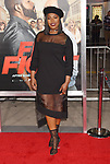 HOLLYWOOD, CA - FEBRUARY 13: Actress Ta'Rhonda Jones attends the premiere of Warner Bros. Pictures' 'Fist Fight' at the Regency Village Theatre on February 13, 2017 in Westwood, California.