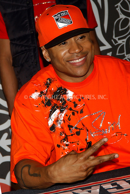 WWW.ACEPIXS.COM . . . . . ....NEW YORK, APRIL 12, 2006....LL Cool J at the promotion event of his new album 'Todd Smith' held at Virgin Megastore in Times Square.....Please byline: KRISTIN CALLAHAN - ACEPIXS.COM.. . . . . . ..Ace Pictures, Inc:  ..(212) 243-8787 or (646) 679 0430..e-mail: info@acepixs.com..web: http://www.acepixs.com