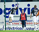03/03/2009  Copyright Pic: James Stewart.File Name : sct_jspa18_falkirk_v_dundee_utd.THOMAS SCOBBIE GIVES AWAY A PENALTY.James Stewart Photo Agency 19 Carronlea Drive, Falkirk. FK2 8DN      Vat Reg No. 607 6932 25.Studio      : +44 (0)1324 611191 .Mobile      : +44 (0)7721 416997.E-mail  :  jim@jspa.co.uk.If you require further information then contact Jim Stewart on any of the numbers above.........
