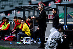 Auckland City Head Coach Ramon Tribulietx gestures during the 2017 Lunar New Year Cup match between Auckland City FC (NZL) vs FC Seoul (KOR) on January 28, 2017 in Hong Kong, Hong Kong. Photo by Marcio Rodrigo Machado/Power Sport Images
