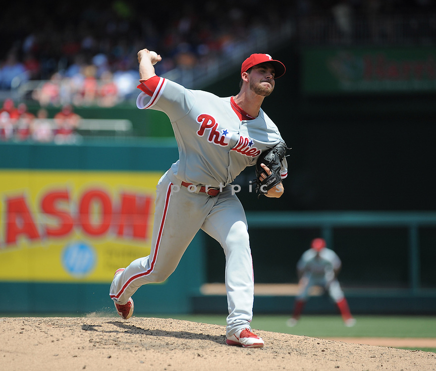 Philadelphia Phillies Aaron Nola (27) during a game against the Washington Nationals on June 11, 2016 at Nationals Park in Washington, DC. The Nationals beat the Phillies 8-0.