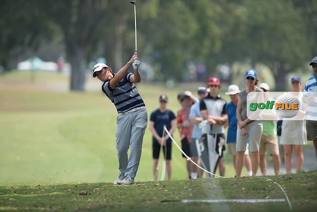 Jake Mcleod (NZL) during the final round of the Australian PGA Championship, Royal Pines Resort Golf Course, Benowa, Queensland, Australia. 02/12/2018<br /> Picture: Golffile | Anthony Powter<br /> <br /> <br /> All photo usage must carry mandatory copyright credit (© Golffile | Anthony Powter)