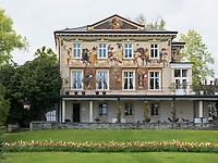 Villa Prym an Uferpromenade, Konstanz, Baden-W&uuml;rttemberg, Deutschland, Europa<br /> Villa Prym at lakeside promenade, Constance, Baden-W&uuml;rttemberg, Germany, Europe