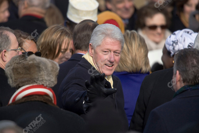 Former U.S. President Bill Clinton, after President Barack Obama's and Vice-President Joe Biden's swearing-in ceremony at The Capitol Building. Washington, DC, January 20, 2009.