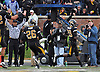 Nov 13, 2010; Columbia, MO, USA; Missouri Tigers wide receiver Jerrell Jackson (29) runs in for a touchdown in the first half of the game against the Kansas State Wildcats at Memorial Stadium. Mandatory Credit: Denny Medley-US PRESSWIRE