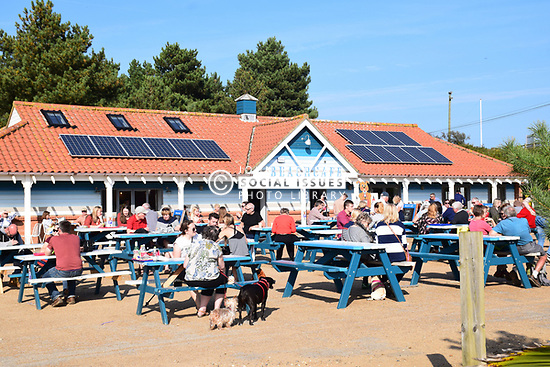 Cafe at Holkham beach, Norfolk