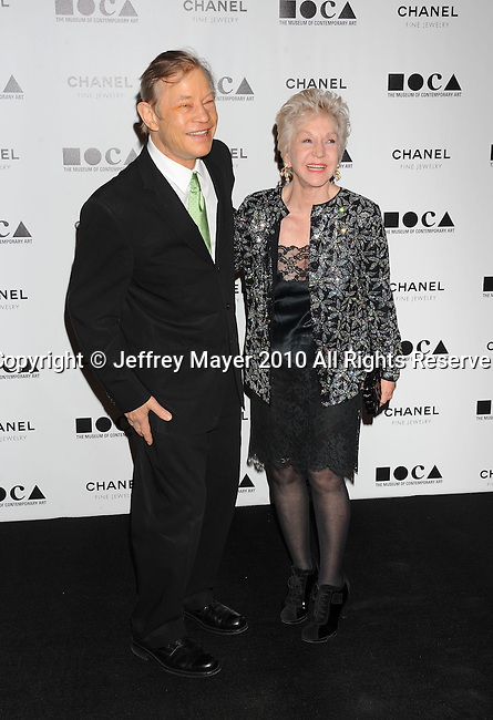 LOS ANGELES, CA. - November 13: Michael York, Pat York arrive at MOCA Presents: Envisioned By Artist Doug Aitken at MOCA Grand Avenue on November 13, 2010 in Los Angeles, California.