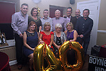 Audrey Kirwan with her family at her 40th in Harrys...(Photo credit should read Jenny Matthews www.newsfile.ie)....This Picture has been sent you under the conditions enclosed by:.Newsfile Ltd..The Studio,.Millmount Abbey,.Drogheda,.Co Meath..Ireland..Tel: +353(0)41-9871240.Fax: +353(0)41-9871260.GSM: +353(0)86-2500958.email: pictures@newsfile.ie.www.newsfile.ie.