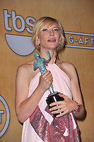 Cate Blanchett at the 20th Annual Screen Actors Guild Awards at the Shrine Auditorium.<br /> January 18, 2014  Los Angeles, CA<br /> Picture: Paul Smith / Featureflash